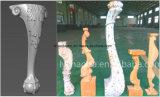 Нога стула софы Multi машины маршрутизатора CNC головок 5-Axis одновременной подвергая механической обработке производит деревянное