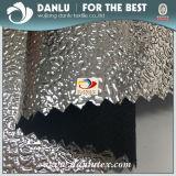 Tecido revestido de prata com reflexo fotográfico reflexivo