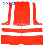 Alto Visibility Safety Vest con High Luster Reflective TC Fabrics