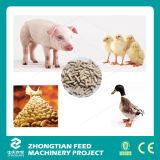Os rebanhos animais e as aves domésticas animais terminam a planta do moinho da pelota da alimentação
