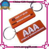 Клиент пластичное Keychain для резиновый подарка Keyring
