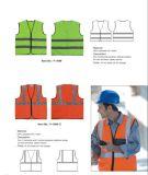 Chaleco reflexivo adaptable de la seguridad del En 20471 y de ANSI/Isea 107