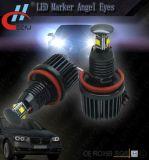 BMW E92 E87 E90 E91 E92 E93 X5 X6를 위한 H8 4LED 20W LED 마커 천사 눈