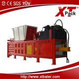 China Xtpack Semi Automatic Bailer Machine para Pressing Waste Materials