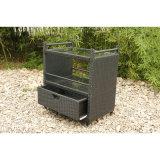 Moderne Mobilier de jardin Garden Patio Rattan Chaise Beach Sun Lounger