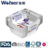 Устранимый контейнер еды алюминия домочадца/алюминиевых фольги