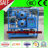 Acoplado Type Vacuum Insulating Oil Filtration con Double Stages