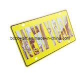 Plateado de metal de aluminio de la decoración para hacer publicidad de los regalos