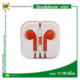 Trasduttore auricolare con il Mic, Headphone Wholesale -Ear in Earphone per il iPhone 4 4s 5 5c 5s 6 6s All Models