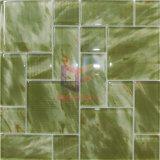 Impresión Seda Mármol como patrón de pared y piso Usado mosaico Decoración de cristal del azulejo (CD463)