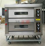 2 portes et four électrique de paquet de porte d'acier inoxydable de 4 plateaux (ZBB-204D)