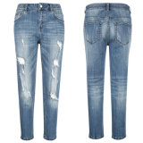 Cottoncasual Leisure Denim der Dame Jeans-Hosen