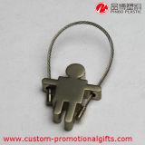 Ponticello sveglio su ordinazione Keychain del metallo di nuovo arrivo mini