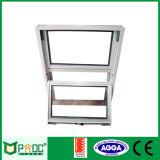 Finestra di scivolamento verticale di alluminio di vetratura doppia