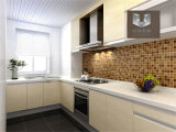 Kitchen Tops、Counter Tops、Table Tops、Wall、Floor、等のためのUber Artificial Quartz