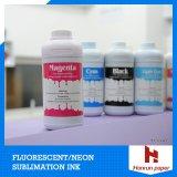 Epson F6070/Mutoh/Mimaki/Sublinova/J Teck에 Flouresent 네온 황색 & Megant 염료 승화 잉크