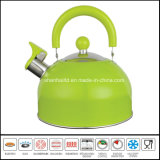 чайник свистка цвета 2.0L
