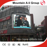 P10 fija Instalación de la tarjeta LED SMD al aire libre a todo color de Publicidad