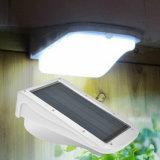 Luz ao ar livre do movimento solar elevado Home do sensor solar do diodo emissor de luz da luz 38 do jardim dos lúmens da luz do sensor do jardim