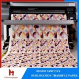 45 / 50gsm High Speed ​​Printing Meilleur Sublimation transfert Rouleau de papier pour impression Sublimation