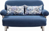 Симпатичное Fabric Folded Sofa Bed с Round Armrest