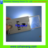 Carte en verre de loupe d'aperçu gratuit avec l'éclairage LED pour le relevé plus ancien