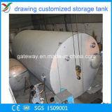 De horizontale Gashouder van het Metaal voor de Opslag van het Gas
