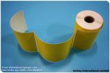 어떤 크기를 위한 인쇄된 열 레이블 롤