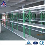 Longspan estante de acero ajustable