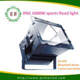 Luz de inundación de los deportes al aire libre LED del poder más elevado 1000W
