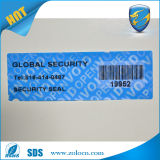 탬퍼 Evideint Security Barcode Label 또는 Security Label