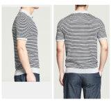 Camicia 2016 di polo a strisce degli uomini del Manufactory di modo dell'OEM