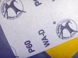 Óxido de alumínio D-Wt Papel de artesanato para polir madeira WD 60 #