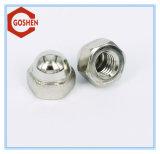 ステンレス鋼/炭素鋼の十六進ナット、フランジのナット、十六進キャップナットのナイロンナット