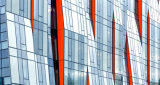 Конструкция системы ненесущей стены стальной структуры стеклянная
