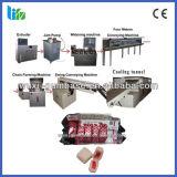 熱い販売の中心によって満たされるフーセンガム機械