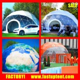 Im Freien großes halber Bereich Belüftung-Zelt für das Bekanntmachen von Förderung-Ereignissen