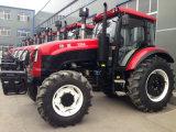 Ce/EECの100HP 120HP Fotonの農場の車輪のトラクター