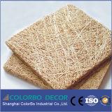 Comitati di parete acustici di Nterior del cemento della fibra delle lane di legno dell'isolamento acustico