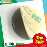 Étiquettes sans contact de PVC NTAG215 NFC d'IDENTIFICATION RF d'impression de système Qrcode de fidélité