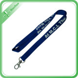 HookのカスタムSize Silk Screen Printing Logo Practical Lanyard