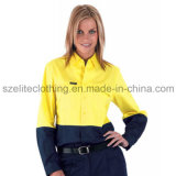 Reflective Shirts High Visibility Women Reflective Shirts Class 2 (ELTHVJ-133)