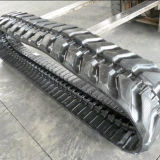 Exkavator-Gummispur (400*72.5W*74) für Aufbau-Maschinerie