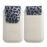 El cuero caliente del tirón de la venta encajona la cubierta del teléfono móvil para el iPhone Samsung (multicolora)