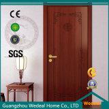 Porte en bois solide de type moderne pour le projet (WDP5043)