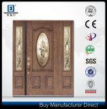 رئيسيّة خشبيّة باب تصميم [فيبرغلسّ] زجاج باب