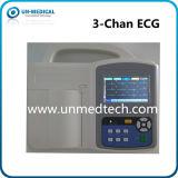 Machine des glissières ECG du Portable trois avec des logiciels PC