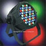 옥외 방수 54X3w RGBW LED 동위는 빛을 세척할 수 있다