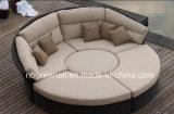 余暇の日曜日の円形のベッド、庭のベッド、余暇の家具
