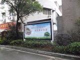 LEDの映画広告の掲示板のライトボックスを広告する屋外の路傍のスクローリング